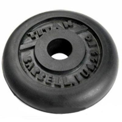 Блин обрезиненный TITAN Barbell 1,25 кг (d31)